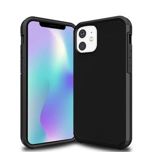 Slim Armor Hybrid case for iPhone 11 model - Black